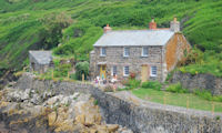 Port Quin - a tiny fishing village in North Cornwall