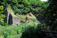 Ruins of Trewethet Mill at Rocky Valley
