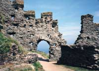 Tintagel (King Arthur's) Castle